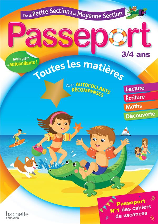 PASSEPORT DE LA PS A LA MS - 34 ANS